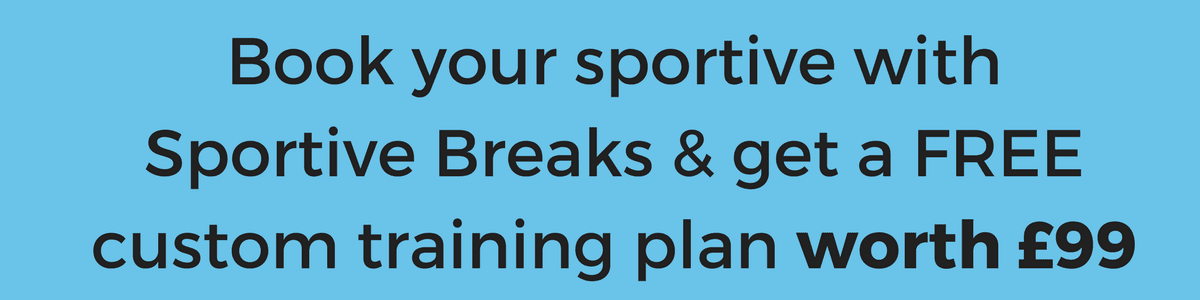 Book your sportive with Sportive Breaks & get a free custom training plan worth £99