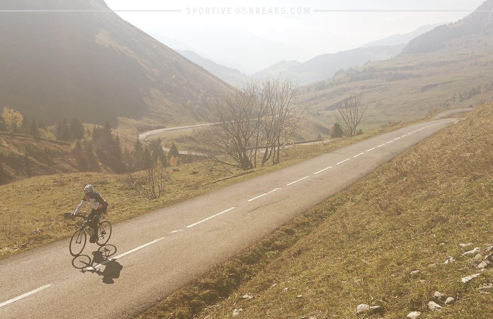 Etape du Tour 2016 Colombiere Climb