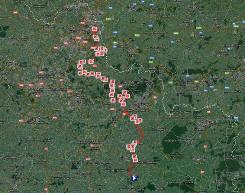 Paris Roubaix Long Route