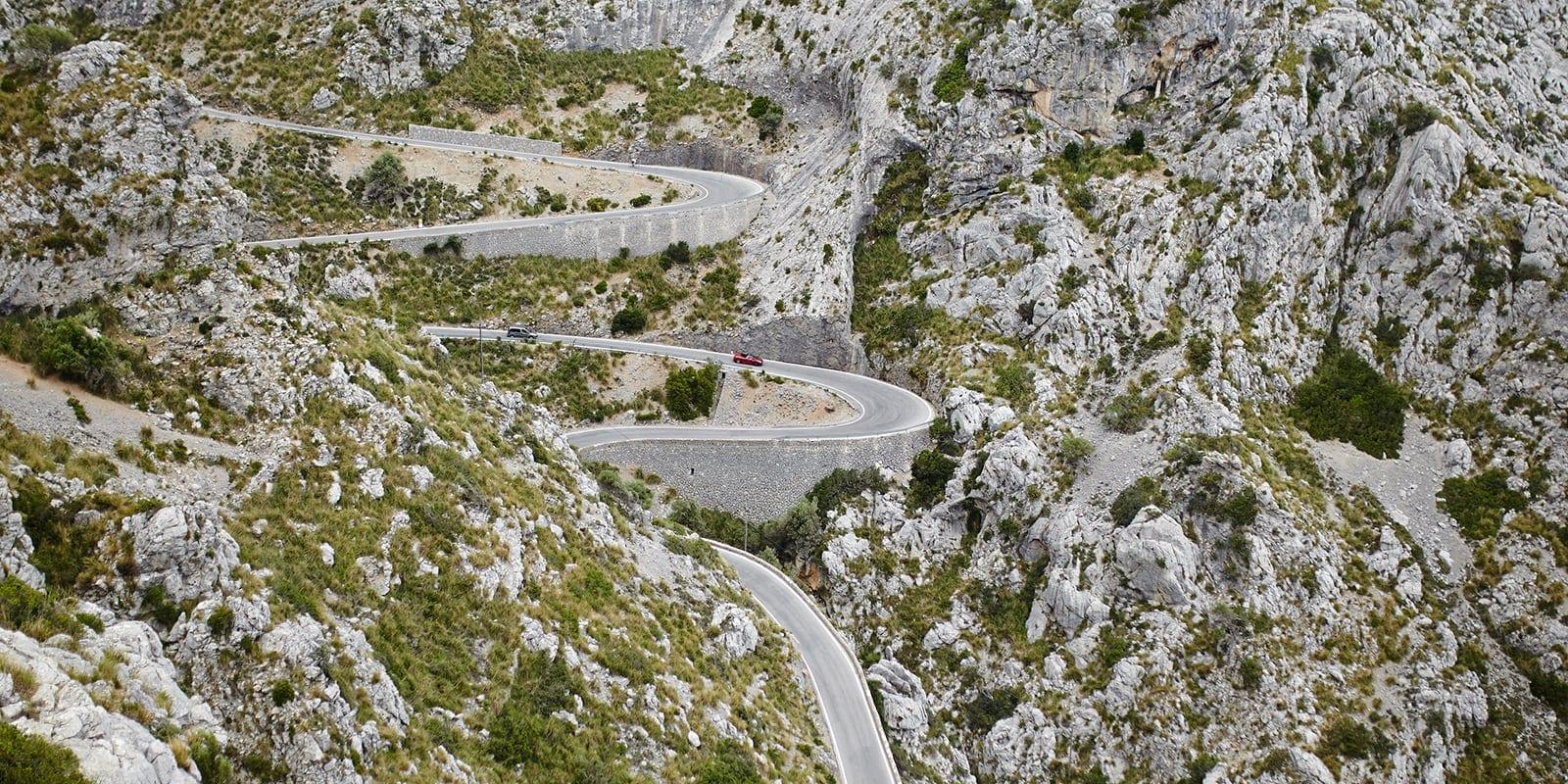 Cycling road Sa Colobra