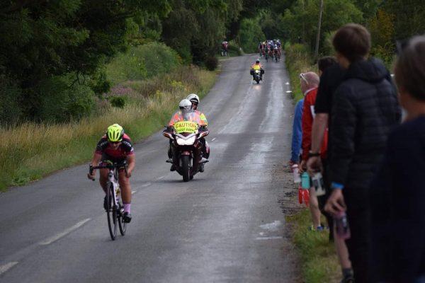 Steph Mottram cycling